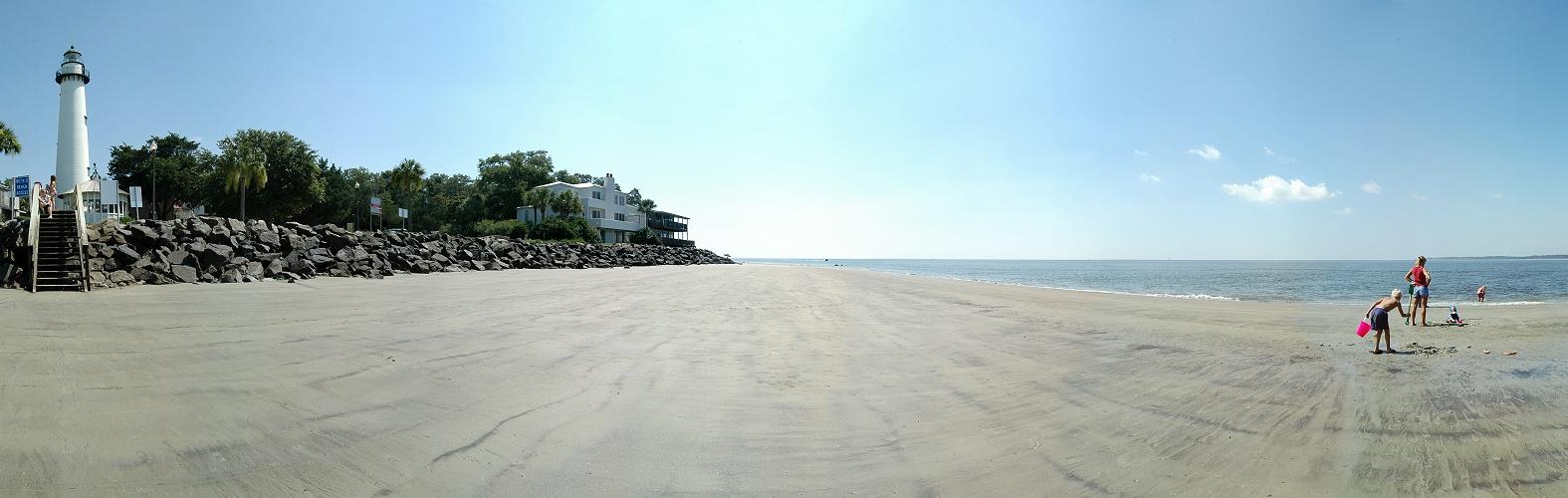 How Long Is St Simons Island Beach